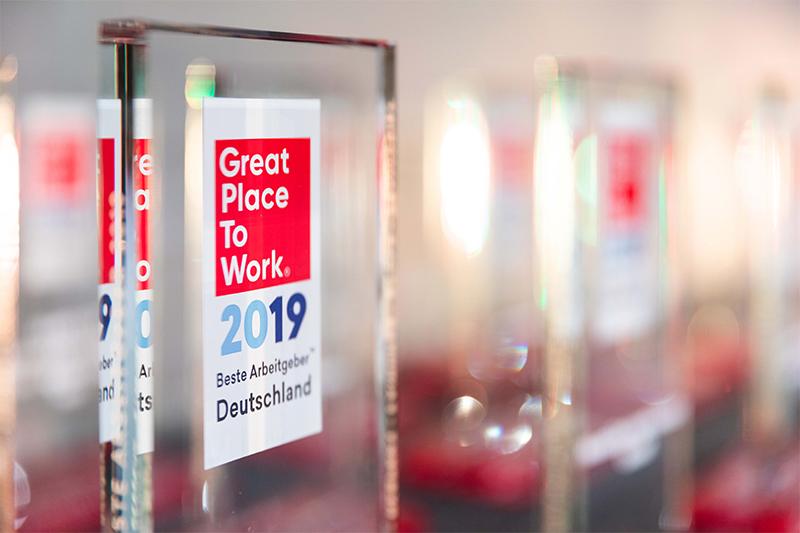 Great Place to Work Auszeichnung