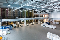 Hochregallager Neubau Pulverlack-Produktion