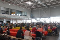 Familientag Neubau Pulverlack-Produktion