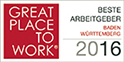 Great Place to work 2016