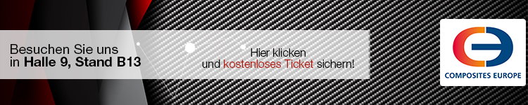 Messe Ticket für Composites Europe sichern